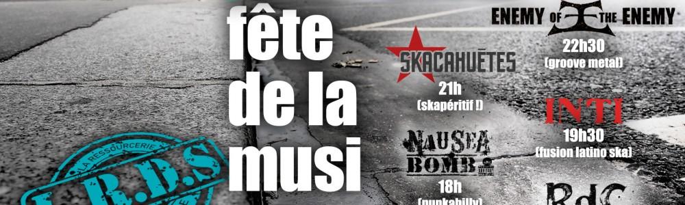 Fête de la musique 2015 – Filles du Calvaire / Paris 11e