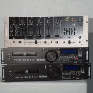 Kit DJ NUMARK C2 + 2MP103 USB